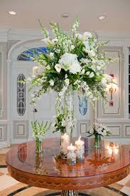 image result for acrylic wedding flower holders flower