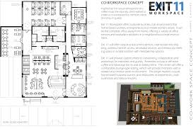 Floor Plan For Bakery Cowork Concept U2014 Anne Lapins Interior Architecture Design