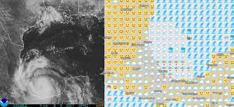 Canada Weather Map Forecast by Interactive Map Tells Weather Forecast Entirely In Emojis