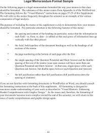 download legal memorandum format template for free tidyform