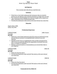 Resume Builder College Student Resume Template For College Students Http Www Resumecareer