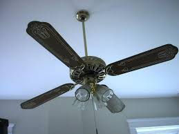 how to paint a ceiling fan painting ceiling fan blades rustic hbm blog