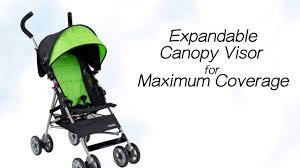 Disney Umbrella Stroller With Canopy by Kolcraft Cloud Umbrella Stroller Youtube
