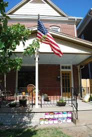Front Porch Flag Pole Kck Life U0027s Very Curious Walkabout