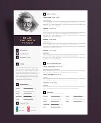 Resume Design Template Creative Professional Resume Cv Design Template With Cover