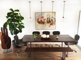 diy modern dining table and modern bench design intervention diary