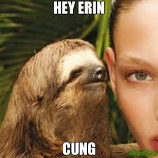 Erin Meme - hey erin cung meme