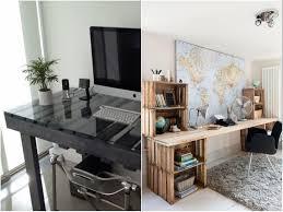 fabriquer un bureau avec des palettes idee deco palette 20 inspi pour réinventer intérieur