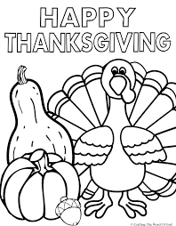 printable thanksgiving coloring pages happy thanksgiving 2 coloring