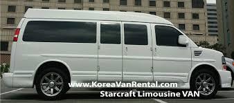 luxury minibus korea car rental with driver u2022 korea van rental com
