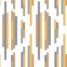 Wallpaper Removable Bars Modern Classic Orange Grey Blue Removable Wallpaper Kathy
