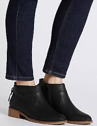 womens boots marks and spencer womens boots ankle chelsea boots for m s us