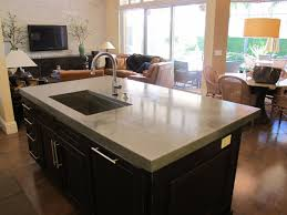 Concrete Kitchen Island by Custom Concrete Kitchen Islands Concrete Countertops Charlotte Nc