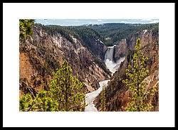 yellowstone national park framed prints america