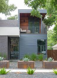 textured front facade modern box home aia austin homes tour 2017 photos curbed austin