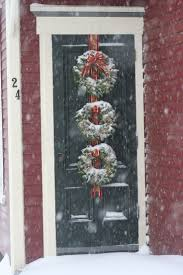 Office Christmas Door Decorating Contest Ideas 132 Best Front Door Porch Christmas Decor Images On Pinterest
