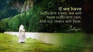 sadhguru s quotes on rivers the isha