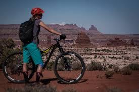 jeep mountain bike mountain biking the maze in utah