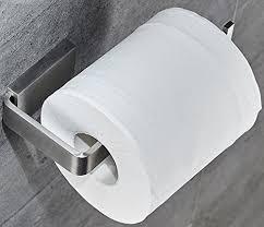 Nickel Finish Bathroom Accessories by Ello U0026allo Toilet Paper Holder 304 Stainless Steel Tissue Roll