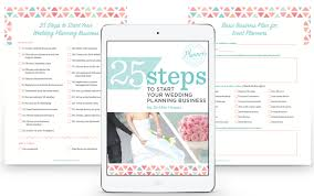 steps to planning a wedding start your wedding planning business