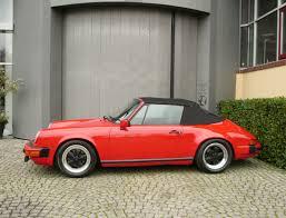 1983 porsche 911 sc convertible porsche 911 sc cabriolet 180hp