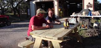 How To Build A Wooden Picnic Table by How To Build A Picnic Table Wilker Do U0027s