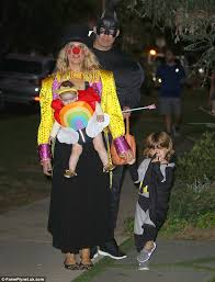 Fear Loathing Halloween Costume Molly Sims Plays Joker Hilarious Clown Halloween Costume