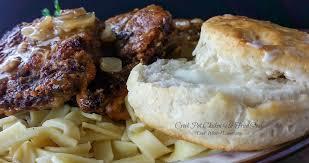 crock pot chicken un fried steak