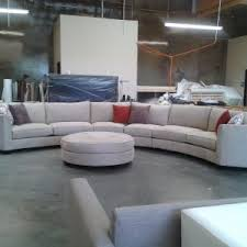 White Ottoman Coffee Table - furniture fascinating curved sectional sofa for your living room