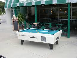 Outdoor Pool Tables by Coin Operated Pool Table U2013 Outdoor Pool Tables