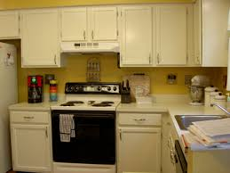 Faux Kitchen Cabinets Ceramic Tile Countertops White Kitchen Cabinets With Black