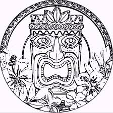 hawaii themed coloring pages coloring pages