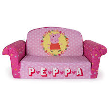kids flip out sofa marshmallow furniture flip open sofa peppa pig amazon in home