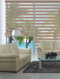 custom made shade translucent roller zebra blinds in brown curtain