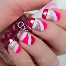 loving those top 99 heart nail designs