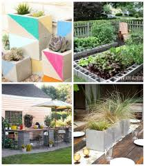 roundup awesome concrete cinder block projects for your outdoor