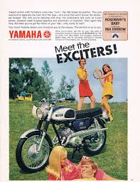 meet the exciters yamaha 1960s 180 street scrambler chrome
