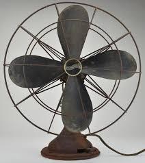 vintage fans westinghouse vintage four blade metal fan 19 x 17