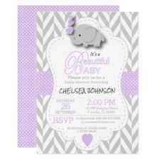 purple elephant baby shower decorations lavender baby shower invitations yourweek 691482eca25e