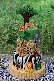 festa safari 60 inspirações de decoração infantil cake