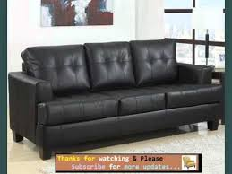 Sofa Designs And Collection Sofa Bed Leather Black Romance YouTube - Friheten sofa bed review