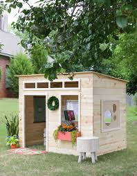 How To Build A Simple Wood Shed by Easy Kids Indoor Playhouse