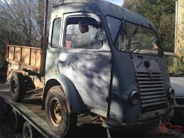vintage renault goelette classic tipper truck pick up vintage collectors vehicle rare