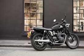 bonneville t100 black triumph motorcycles motorcycles