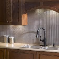 fasade kitchen backsplash panels fasade rib galvanized steel 18x24 backsplash panel free shipping
