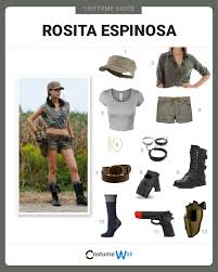Carl Grimes Halloween Costume Dress Rosita Espinosa Costume Halloween Cosplay Guides