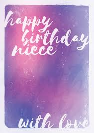 choosey greetings cards with love niece birthday card
