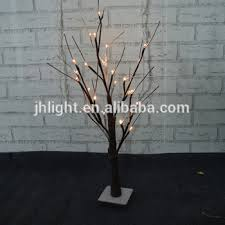decoration pre lit led twig snowy light tree buy led