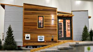 Kitchen Cabinet On Wheels Tiny House On Wheels Modern Kitchen U0026 Bath Hidden Staircase Door