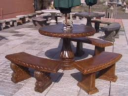 cement table and chairs 54 concrete garden table set concrete yard furniture decorticosis